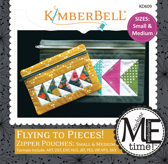 Kimberbell - In-the-Hoop Zipper Pouch